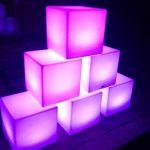 LED Cube hire