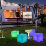 lighted furniture hire